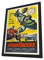 Roadracers - 11 x 17 Movie Poster - Style A - in Deluxe Wood Frame