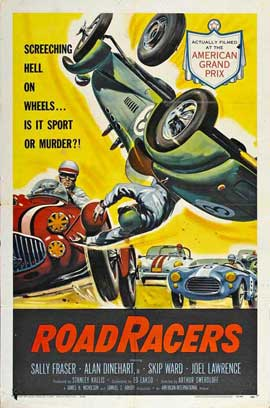 Roadracers - 11 x 17 Movie Poster - Style A