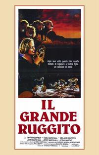 Roar - 11 x 17 Movie Poster - Italian Style A