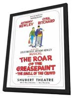 Roar Of The Greasepaint Smell Of The Crowd, The (Broadway) - 11 x 17 Movie Poster - Style A - in Deluxe Wood Frame