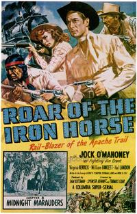 Roar of the Iron Horse - 11 x 17 Movie Poster - Style B