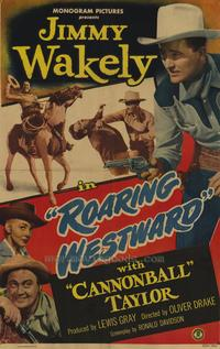 Roaring Westward - 27 x 40 Movie Poster - Style A