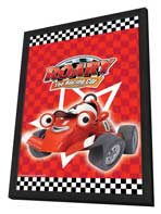 Roary the Racing Car - 27 x 40 Movie Poster - UK Style A - in Deluxe Wood Frame