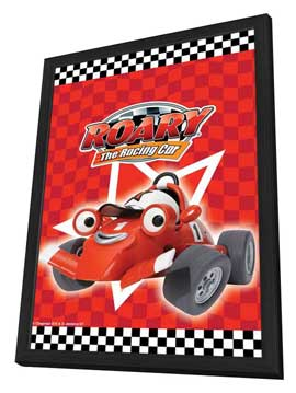 Roary the Racing Car - 11 x 17 Movie Poster - UK Style A - in Deluxe Wood Frame