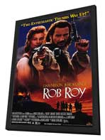 Rob Roy - 27 x 40 Movie Poster - Style B - in Deluxe Wood Frame