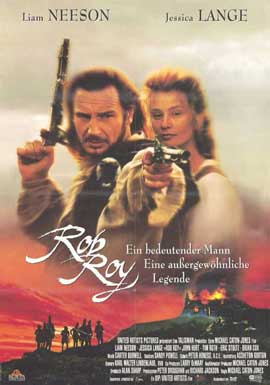Rob Roy - 11 x 17 Movie Poster - German Style A