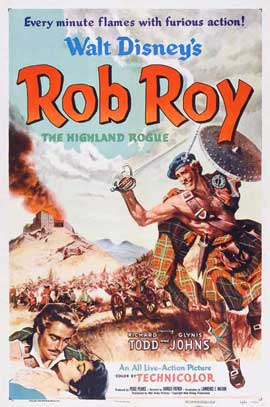 Rob Roy, the Highland Rogue - 11 x 17 Movie Poster - Style A