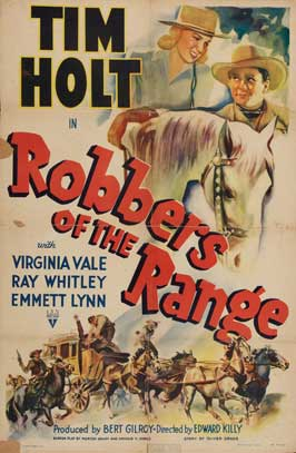 Robbers of the Range - 27 x 40 Movie Poster - Style A