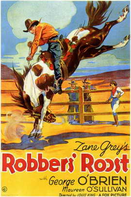 Robber's Roost - 11 x 17 Movie Poster - Style A