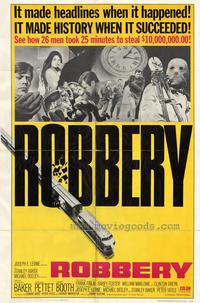 Robbery - 27 x 40 Movie Poster - Style A