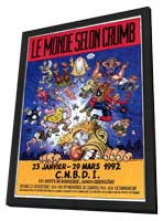 Robert Crumb - 11 x 17 Movie Poster - French Style A - in Deluxe Wood Frame