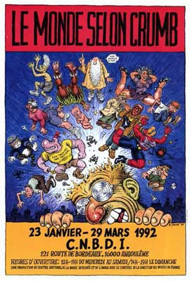 Robert Crumb - 27 x 40 Movie Poster - French Style A