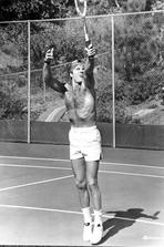 Robert Redford - Robert Redford Plays Tennis Half-Naked