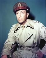 Robert Taylor - Robert Taylor Posed in Military Outfit Portrait