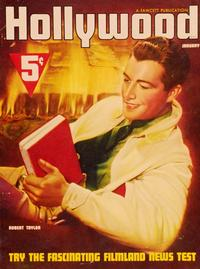 Robert Taylor - 11 x 17 Hollywood Magazine Cover 1930's Style A