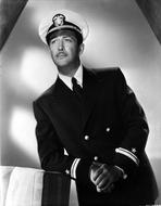 Robert Taylor - Robert Taylor posed in Navy Uniform