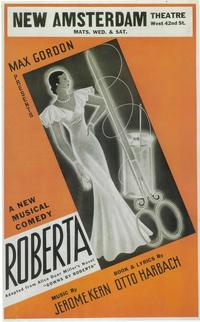 Roberta (Broadway) - 14 x 22 Poster - Style A