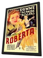 Roberta - 11 x 17 Movie Poster - Style A - in Deluxe Wood Frame