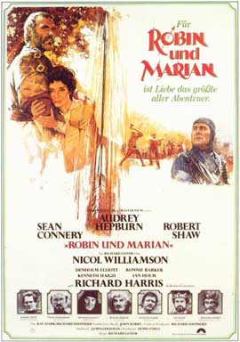 Robin and Marian - 11 x 17 Movie Poster - German Style A