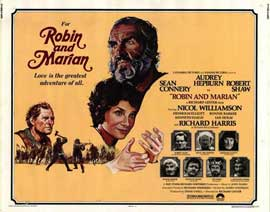 Robin and Marian - 22 x 28 Movie Poster - Half Sheet Style A