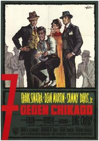 Robin and the 7 Hoods - 11 x 17 Movie Poster - German Style A