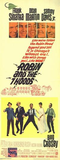 Robin and the 7 Hoods - 11 x 17 Movie Poster - Style B