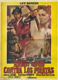 Robin Hood and the Pirates - 11 x 17 Movie Poster - Spanish Style A