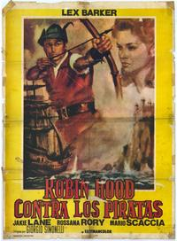 Robin Hood and the Pirates - 27 x 40 Movie Poster - Spanish Style A