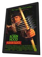 Robin Hood: Men in Tights - 27 x 40 Movie Poster - Style A - in Deluxe Wood Frame