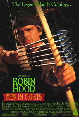 Robin Hood: Men in Tights - 27 x 40 Movie Poster - Style A