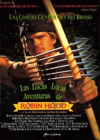 Robin Hood: Men in Tights - 27 x 40 Movie Poster - Spanish Style A