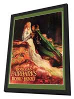 Robin Hood - 27 x 40 Movie Poster - Style A - in Deluxe Wood Frame