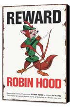 Robin Hood - 11 x 17 Movie Poster - Style C - Museum Wrapped Canvas
