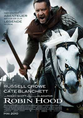 Robin Hood - 27 x 40 Movie Poster - German Style B