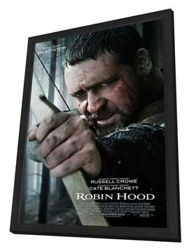 Robin Hood - 11 x 17 Movie Poster - Style A - in Deluxe Wood Frame