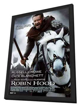 Robin Hood - 27 x 40 Movie Poster - Style B - in Deluxe Wood Frame