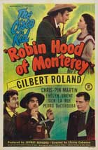 Robin Hood of Monterey - 27 x 40 Movie Poster - Style A