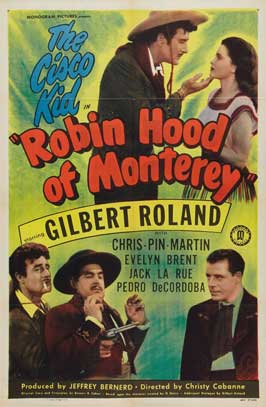 Robin Hood of Monterey - 11 x 17 Movie Poster - Style A