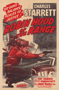 Robin Hood of the Range - 11 x 17 Movie Poster - Style A