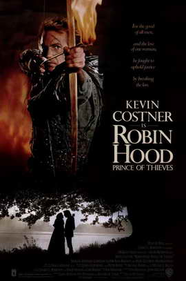 Robin Hood: Prince of Thieves - 11 x 17 Movie Poster - Style A
