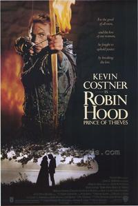 Robin Hood: Prince of Thieves - 43 x 62 Movie Poster - Bus Shelter Style A