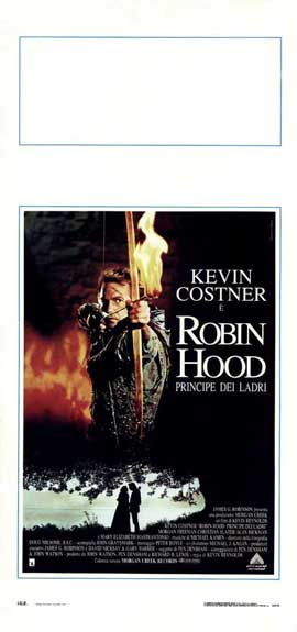 Robin Hood: Prince of Thieves - 13 x 28 Movie Poster - Italian Style A