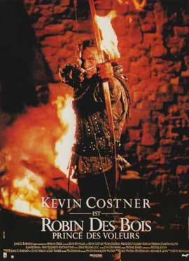 Robin Hood: Prince of Thieves - 11 x 17 Movie Poster - French Style A