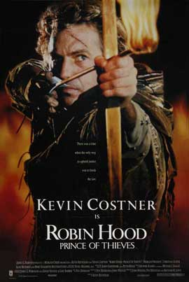 Robin Hood: Prince of Thieves - 27 x 40 Movie Poster - Style B