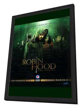 Robin Hood (TV) - 11 x 17 TV Poster - Style A - in Deluxe Wood Frame