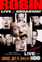 Robin Williams: Live on Broadway - 27 x 40 Movie Poster - Style A