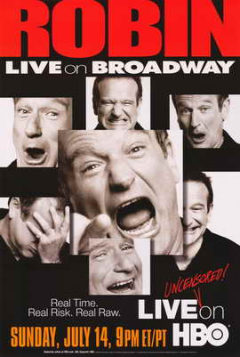 Robin Williams: Live on Broadway - 11 x 17 Movie Poster - Style A