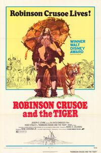 Robinson Crusoe and the Tiger - 27 x 40 Movie Poster - Style A
