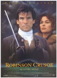 Robinson Crusoe - 27 x 40 Movie Poster - Spanish Style A