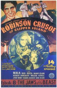 Robinson Crusoe of Clipper Island - 11 x 17 Movie Poster - Style D